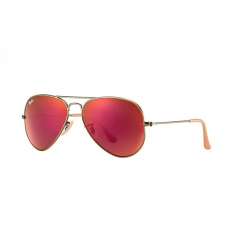 Ray-Ban Aviator Flash Lenses - Red Mirror
