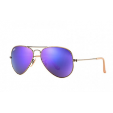 Ray-Ban Aviator Flash Lenses - Violet Mirror