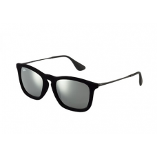 Ray-Ban Chris Velvet Sunglasses - Black