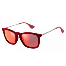 Ray-Ban Chris Velvet Sunglasses - Red