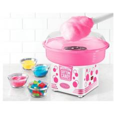 Nostalgia Electrics Hard Candy Maquina de Algodao Doce - Pink & White
