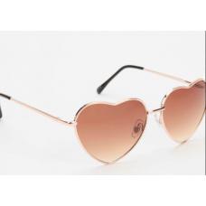 Oculos Coracao Urban Outfitters Dourado