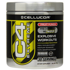 Cellucor C4 Extreme Fruit Punch, 177 grams - 30 Servings