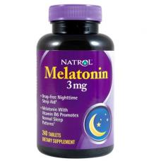 Natrol Melatonina 3 mg 240 Capsulas