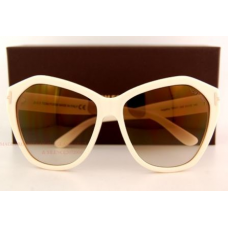 Óculos Tom Ford TF 0317 317 Angelina 25G Ivory/Brown