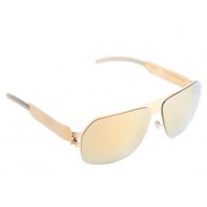 Mykita - Óculos Xaver Espelhado Dourado