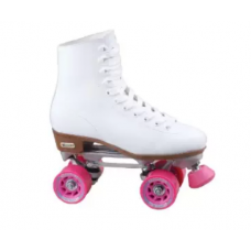 Patins Chicago Skates Womens Deluxe Rink Roller Skates Pink