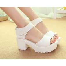 Chunky Sandals High Heels