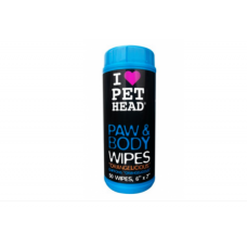 Pet Head 50 lencos Para limpar as Patas