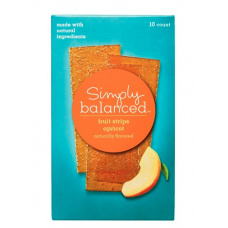 Simply Balanced Apricot Fruit Strips 10 ct