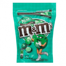M&Ms Mint Dark Chocolate Candy 8 oz