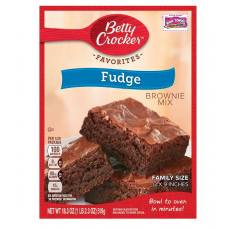 Betty Crocker Mistura para Preparo de Brownie Fudge