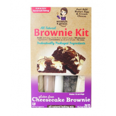 Scratch & Grain All Natural Gluten Free Cheesecake Brownie Kit - 15.2 oz