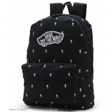 23f8ff1d4bab8 Vans Mochila REALM BACKPACK BLACK PINEAPPLE