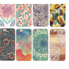 Shell For Apple Flower Datura Floral Cell Phone Cases