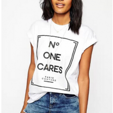 Blusa No One Cares