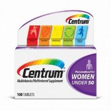 Centrum Womens Under 50 Multivitamina/Multimineral - 100 Caps