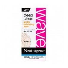 Neutrogena Deep Clean Wave Gentle Exfoliating Pads