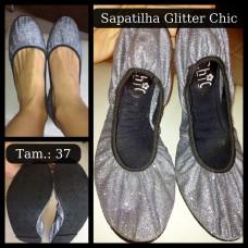 Sapatilha Flat Chic Glitter Tam:37 (9w)