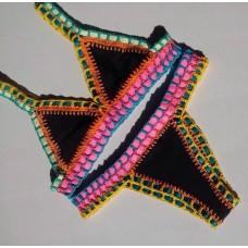 Biquini Croche Elastico Colorido Kaka