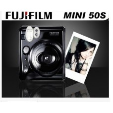 Fujifilm Instax Mini 50S Camera (Piano Black) - Preta ou Branca