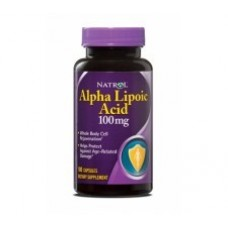 Natrol Alpha Lipoic Acid 100 mg 100 Capsulas (Acido Lipotico)