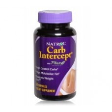 Natrol Bloqueador de Carboidratos Carb Intercept Suplemento 60 Capsulas