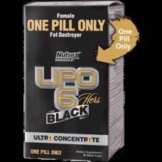 Nutrex Lipo 6 Black ultra-concentrado* Para Mulheres