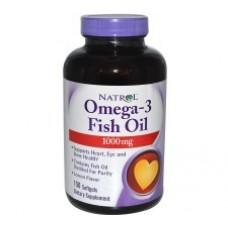 Natrol Omega-3 Fish Oil 1000 mg 150 Capsulas - Óleo de Peixe