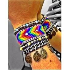 Kit Pulseiras Rainbow  (ou individual) - Kit122
