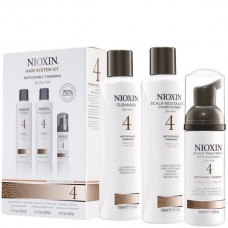 Nioxin System 4 Kit - Thinning System Kit Chemical Treated Set